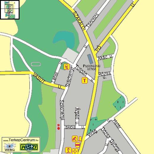 nyékládháza térkép Hejobába földrajza nyékládháza térkép